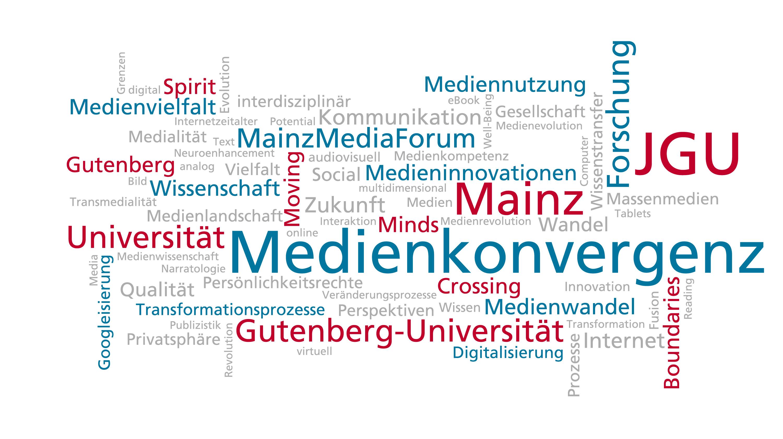WILLKOMMEN: Forschungsschwerpunkt Medienkonvergenz an der JGU.